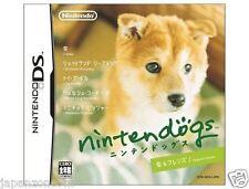 Used DS Nintendogs - Shiba & Friends NINTENDO JAPANESE IMPORT