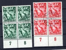 DR-3.Reich 660/61 VIERERBLOCK gest. (B5360