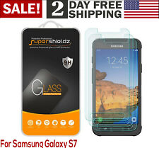 Samsung Galaxy S7 Active Glass Screen Protector Anti-Scratch Bubble-Free 3-Pack