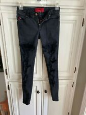 """Junior Girls TRIPP """"Hot Topic"""" jeans, mid-rise, skinny, size 0"""