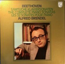BEETHOVEN COMPLETE PIANO SONATAS - BRENDEL: PHILIPS 6768 004 - 13X LP NM