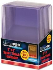 1 Pack Ultra Pro 130pt Top Loaders 10 Total Fits cards up to 130 Point