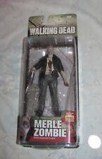 2014 The Walking Dead Merle Dixon Zombie action Figure New Moc Mcfarlane