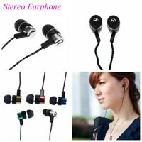 In Ear Headset Stereo Earbud Subwoofer Earphone for Samsung HTC OnePlus HuaWei