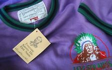SWEATSHIRT vintage 80's LEVI'S strauss & c.o  tg. M made in Italy NEW! RARE