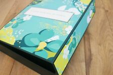 Empty Box of A Good Hair Day Of Seoul Green Korean Yellow Flower Large Case