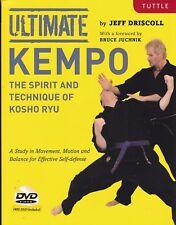 ULTIMATE KEMPO: SPIRIT & TECHNIQUE of KOSHO RYU kenpo shorei martial art history
