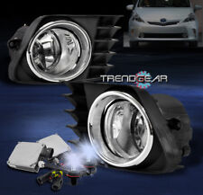 2012-2014 TOYOTA PRIUS V FRONT BUMPER FOG LIGHT LAMP CHROME W/8K HID KIT+HARNESS