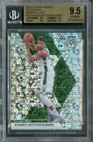 2019 PANINI MOSAIC GIANNIS ANTETOKOUNMPO FAST BREAK BGS 9.5 GEM MINT BGS POP 1🔥