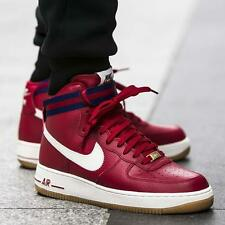 NIKE AIR FORCE 1 HIGH '07 Boots Trainers Hi Tops AF1 - UK Size 6 (EU 40) Gym Red