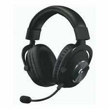 Logitech G Pro X Gaming Headset Surround Sound EQ-Profile Memory Foam