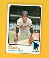 4999  1973 Topps #330 Rod Carew TWINS CARD