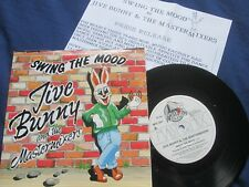 Jive Bunny And The Mastermixers - Swing The Mood RCA Victor MFD 001 Vinyl 7inch