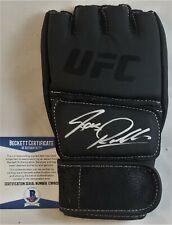BAS RUTTEN Autographed Glove BECKETT BAS COA Signed UFC HOF MMA Autograph