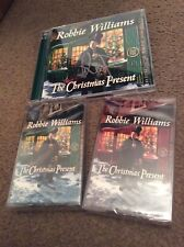SIGNED Robbie Williams The Christmas Present CD,2 Cassettes Bundle Order Proof