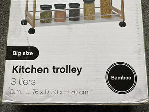 KITCHEN TROLLEY  5FIVE SIMPLY SMART.  Rrp £89.99 Large