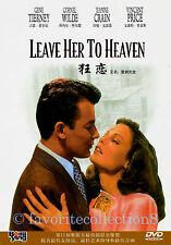 Leave Her to Heaven (1945) - Gene Tierney, Cornel Wilde - DVD NEW