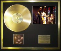 QUEEN II  PHOTO / PIC CD GOLD DISC RECORD FREE P+P
