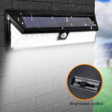 Solar Power Sensor Wall Light 54 LED Ultra Bright Wireless Security Outdoor Lamp