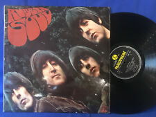 THE BEATLES RUBBER SOUL PMC 1267 4/4 MATRIX FIRST UK PRESS EXC