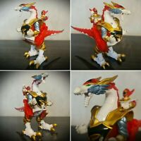 "POWER RANGERS Mystic Force Red Ranger 6"" Dragon Rider Action Figure Toy Rare 06"