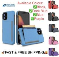 3in1 Credit Card Holder Slot Smartphone Cellphone Covers for iPhone case