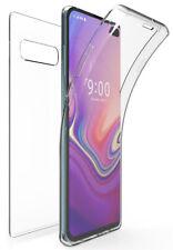 Tri-Max Clear Screen Guard Full Body TPU Wrap Case Cover for Galaxy S10 Plus