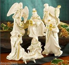 Lenox Holiday 7pc Miniature Nativity Set Holy Family NEW IN BOX