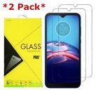 2-Pack Premium Tempered Glass Screen Protector For Motorola Moto E (2020)