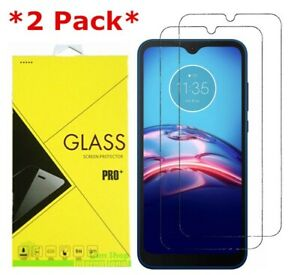 2-Pack Premium Tempered Glass Screen Protector For Motorola Moto E (2020)