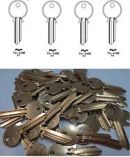 Copy Yale Cylinder Lock 1a Ya1 Ya1e Key Steel Blanks Nickel Plated Uncut House 1