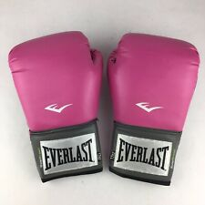 Everlast Womens Pro Style Training Boxing Gloves 12 Oz Model 2512W Velcro Wrist