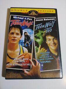 Double Feature: Teen Wolf / Teen Wolf Too (DVD, 2002, Widescreen) Michael J. Fox