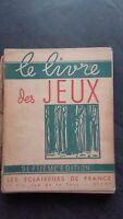 El Libro las Juegos 7è Edition (600 Juego) Vichy las Scouts de France 1937