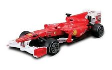 FERRARI F10 RACE & PLAY 1:32 SCALE DIECAST CAR & RACING ACCESSORIES BY BBURAGO