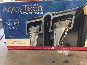AquaTech Power Aquarium Filter 30 to 60-Gallon Aquariums