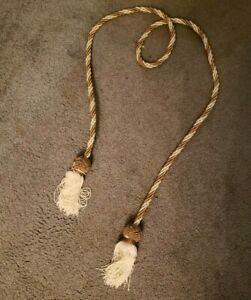 Gold Decorative Rope with Tassels