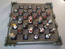 Looney Tunes Chess Set Franklin Mint Warner Bros. 32 pieces + board 1991