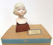 """Roman A Child'S World """"Spring Breeze"""" Girl Bust by Frances Hook 3058 Le Box&Tag"""