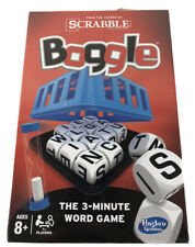 Hasbro Scrabble Boggle Board Game 2014 - NEW - Factory Sealed