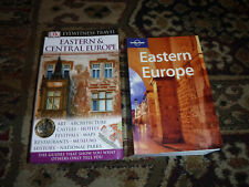 Lot Of 2 Eastern European Travel Guides - box 9