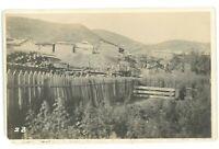 RPPC Railroad Train Construction Philippines? Islands Real Photo Postcard 4