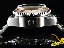 Invicta Reserve 52mm Deep Dish HYDROMAX Swiss Quartz GMT Silver Dial 1000M Diver