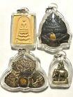 ACRYLIC CASE CASING PHRA LP RARE OLD THAI BUDDHA PENDANT bought amulet in store