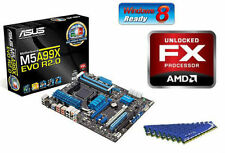 AMD FX-8350 Eight Core X8 CPU MOTHERBOARD 8GB DDR3 MEMORY RAM BUNDLE COMBO KIT
