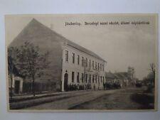 "Jászberény Judaica Rare Old Postcard Jewish Synagogue 1910"" Hungary ISRAEL"