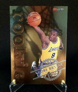 1996-97 NBA Hoops #3 - KOBE BRYANT - Gold Foil Embossed Rookie Card