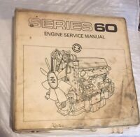 Detroit Diesel Series 60 Engine Service Manual (1986). Detroit Diesel OEM.