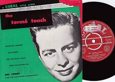 Mel Torme ORIG OZ Promo EP Torme touch VG+ '58 Coral CX5311 Vocal Jazz Pop