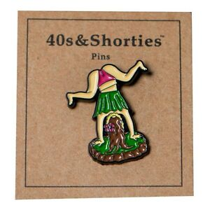 40s and Shorties Hula Twerk Pin multi